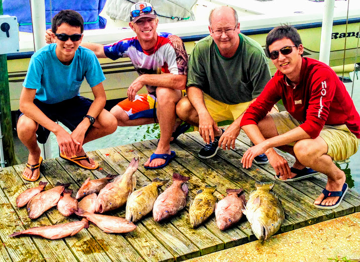 another successful fishing trip with Bay to Bay Fishing Charters Anna Maria Island
