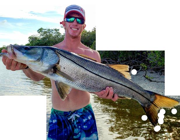 Captain Brian Peacock of Bay to Bay Fishing Charters on Anna Maria Island, Florida